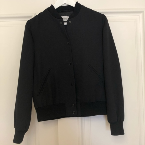 Wilfred Poussin Bomber - BLACK